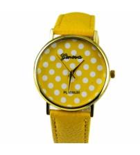 Reloj Geneva Amarillo